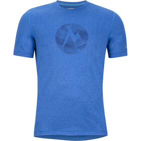 Marmot Transporter SS Tee Herr french blue heather